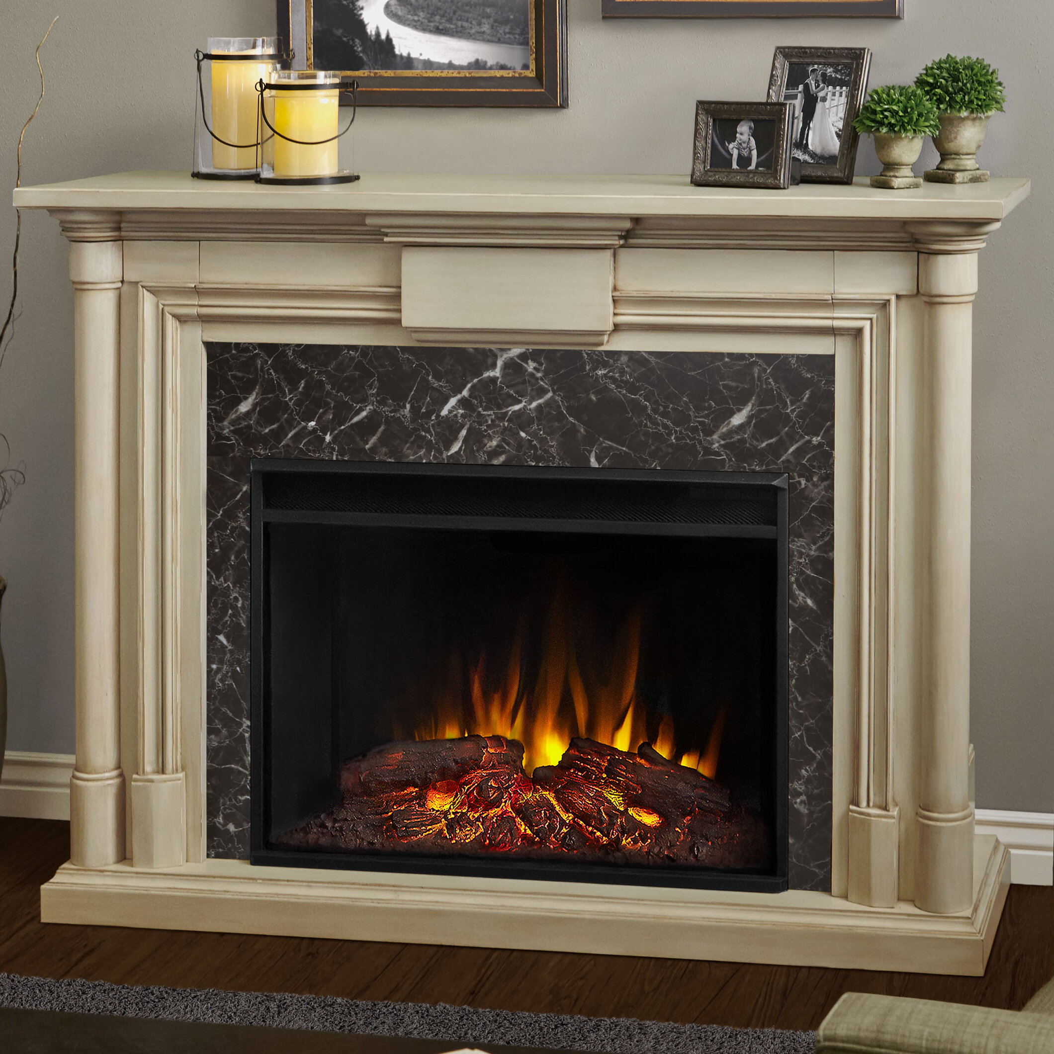 Attrayant Real Flame Maxwell Grand Electric Fireplace U0026 Reviews | Wayfair