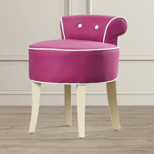 Read Reviews Glanz Vanity Stool By Mercer41