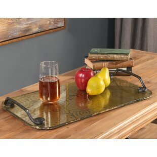 Bakerhill Painted Glass Accent Tray