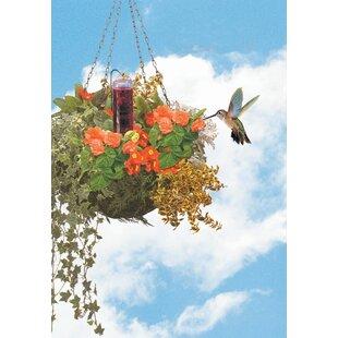 Perky Pet Basket Planter Hummingbird Feeder