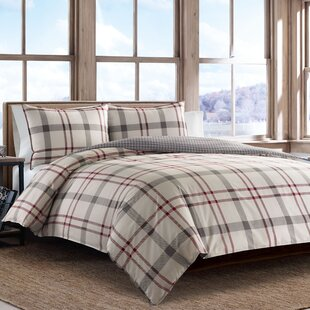 Portage Bay Reversible Duvet Cover Set by Eddie Bauer