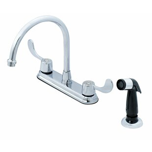 Oakbrook Collection Touch Bridge Faucet with Side Spray