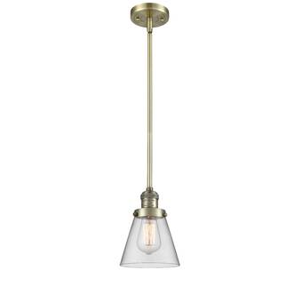 Breakwater Bay Hann 1 Light Single Bell Pendant Wayfair