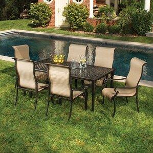 sweeten 7 piece outdoor dining set