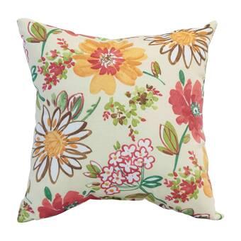 Winston Porter Abra Floral Lumbar Pillow Wayfair