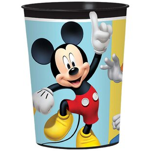 Mickey Mouse on the Go Plastic Plastic/Paper Disposable Favor Cup
