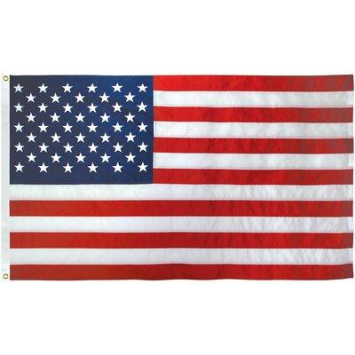 American Nylon 3 x 5 ft. House Flag FlagPole-To-Go