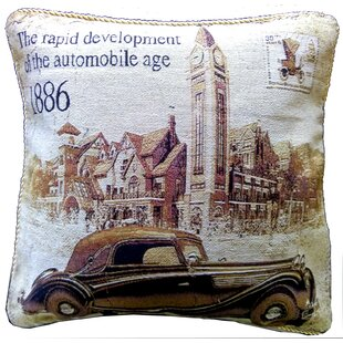 A Drive into Town Pillow Case (Set of 2)