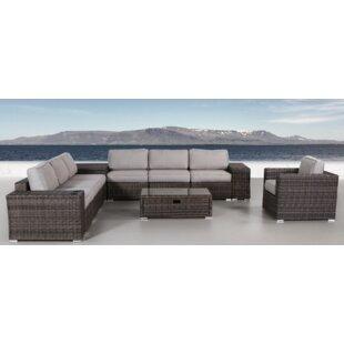 Orren Ellis Jabari 12 Piece Sectional Set with Cushions