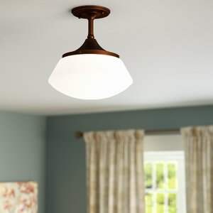 Savane 1-Light Semi-Flush Mount