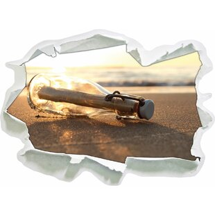 Letter In A Bottle Wall Sticker By East Urban Home