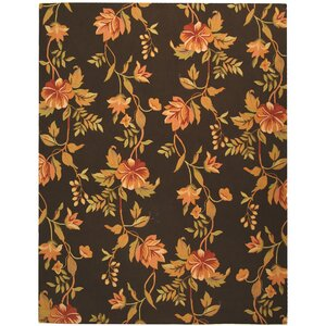 Isabella Brown Novelty Area Rug