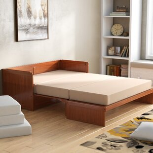Barham Cube Queen Murphy Bed with Mattress
