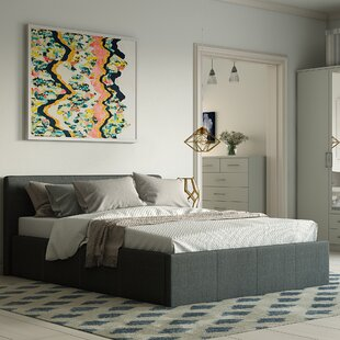 Laverock Upholstered Ottoman Bed By Wrought Studio