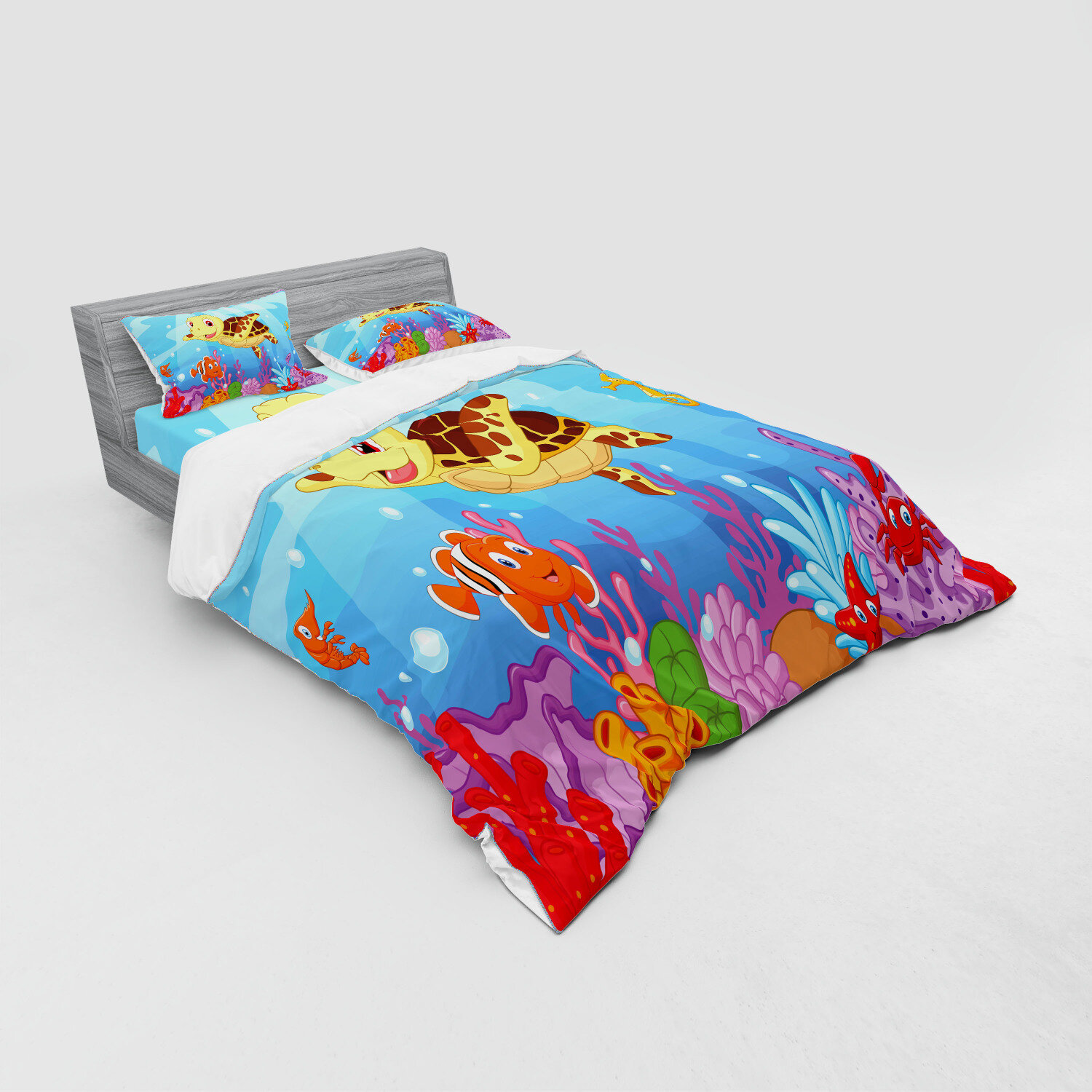 Novelty Spotted Duvet Cover Set Quilted Set+Pillow Cases /& Fitted Sheet All Size