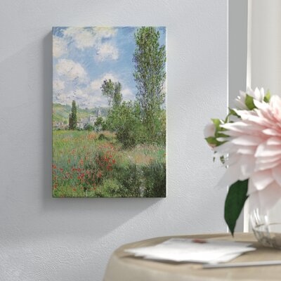 """'View of Vetheiul 1880' Painting Print on Wrapped Canvas Lark Manor Size: 18"""" H x 12"""" W x 1.5"""" D"""