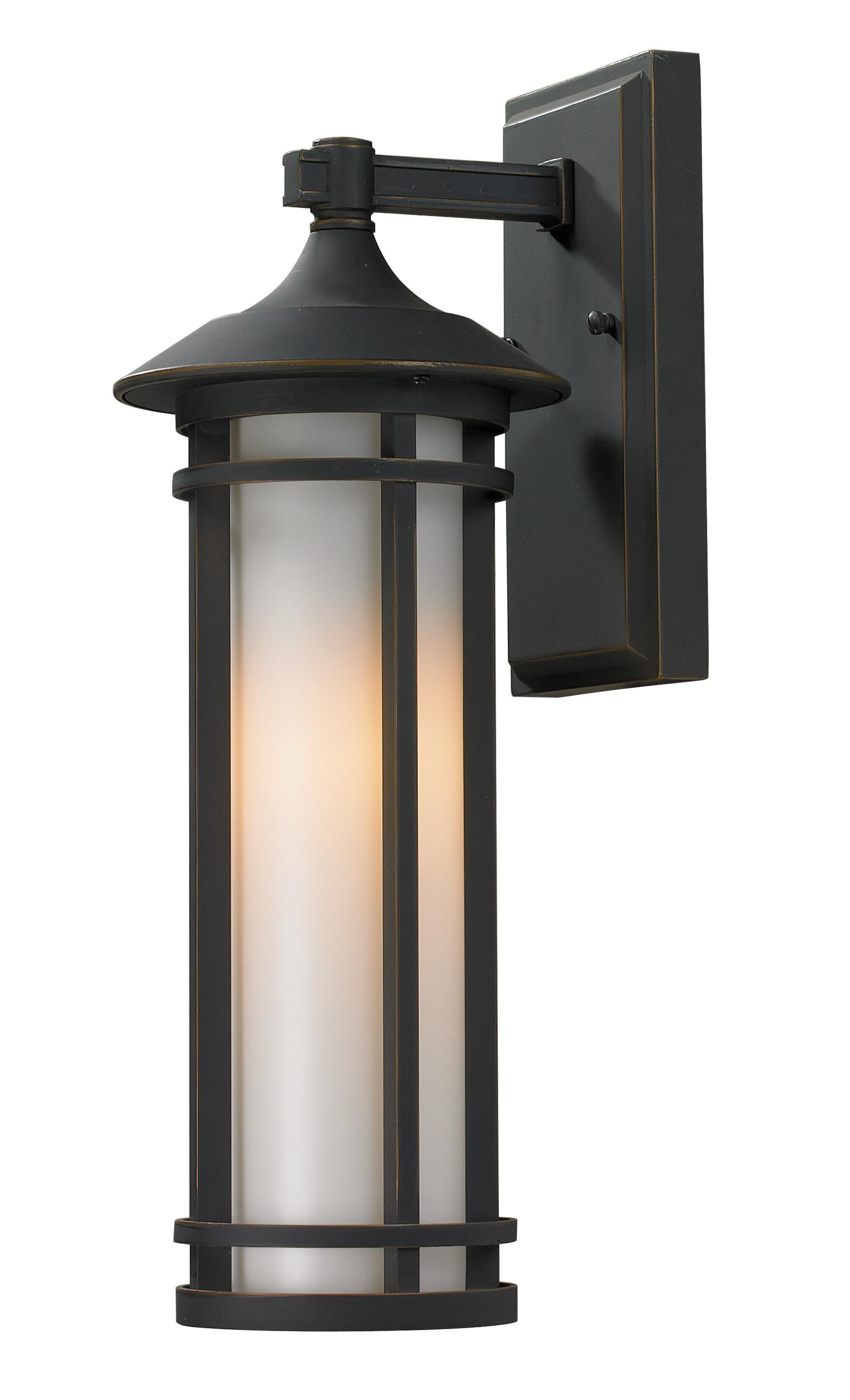 Bloomsbury Market Mckew 1 Light Outdoor Wall Lantern Wayfair
