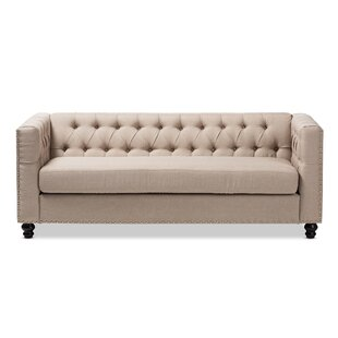 Shop Stonybrook Modern 3 Seater Chesterfield Sofa by Alcott Hill