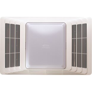Top Reviews 50 CFM Bathroom Fan and Heater with Light By Broan