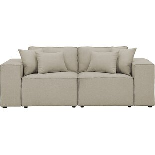 Neary Modular Loveseat by Gracie Oaks
