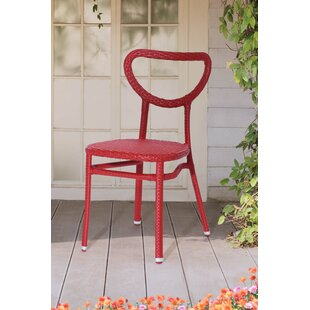 Brayden Studio Broome Stacking Patio Dining Chair