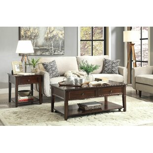 Darby Home Co Palmetto 2 Piece Coffee Table Set