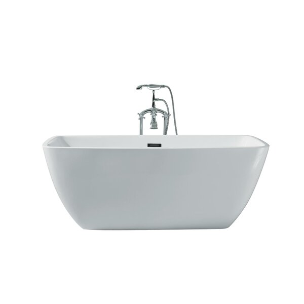 Best Freestanding Bathtubs, Best Bathtubs 2017, Best Bathtubs for Soaking, Best Rated Freestanding Bathtubs, Modern Freestanding Bathtubs, Aurora Platinum Rectangle 63