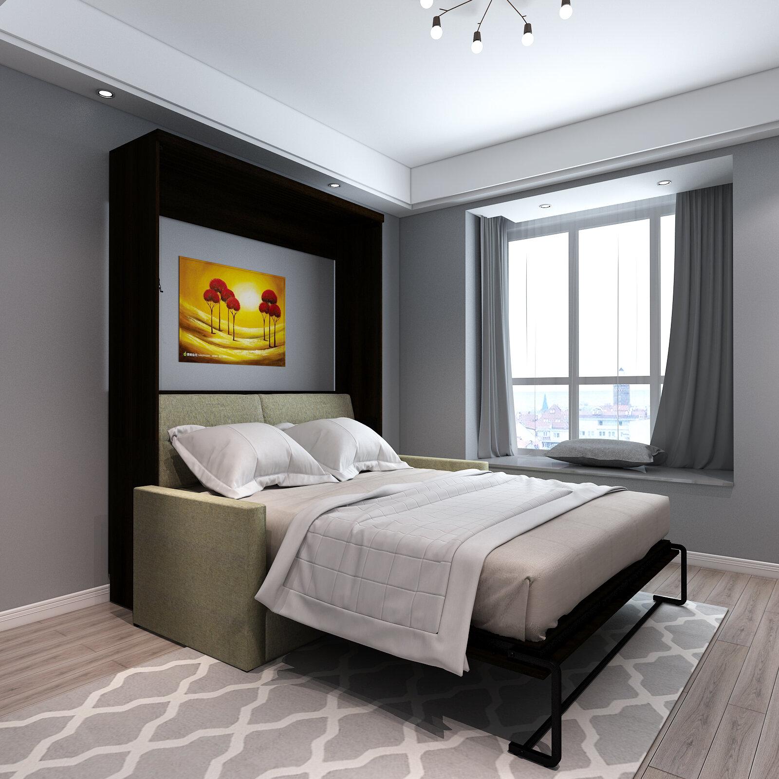 Roomandloft Brentwood Queen Sofa Murphy Bed