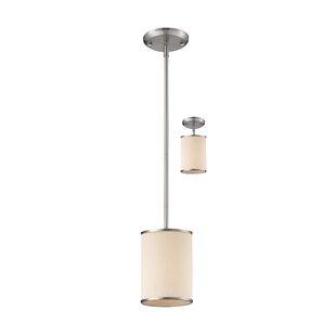 Ivy Bronx Gamboa 1-Light Cylinder Pendant