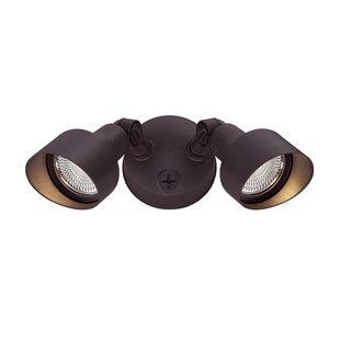 Ebern Designs Mckean LED 2-Light Outdoor Spotlight