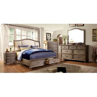 Mercer Upholstered Storage Panel Bed by Canora Grey