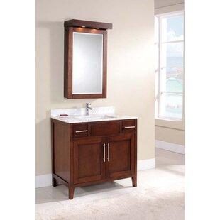Bedelia 37 Single bathroom Vanity Set