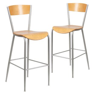 Kirby 30 Bar Stool (Set of 2) Ebern Designs