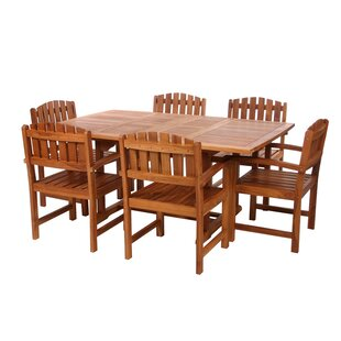 Humphrey 7 Piece Teak Dining Set