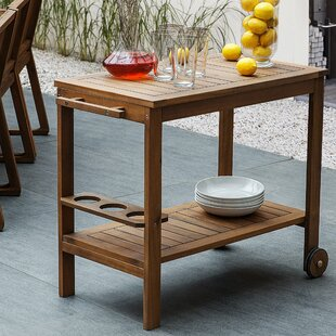 Cray Bar Serving Cart By Sol 72 Outdoor