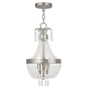House of Hampton Rachedi 3-Light Empire Chandelier