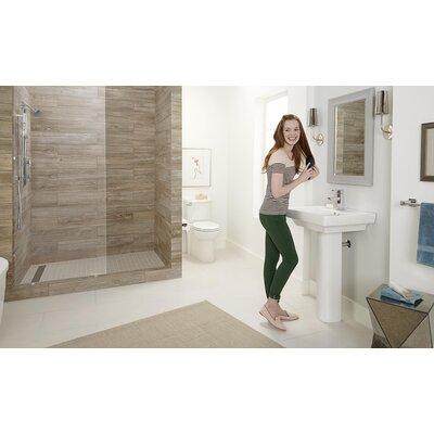 American Standard Boulevard Vitreous China 36 Pedestal Bathroom Sink with Overflow