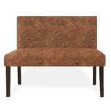 Sangerfield 40.5 Armless Settee by Charlton Home®