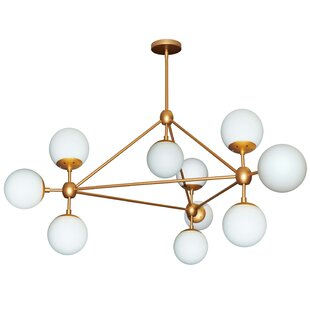 Corrigan Studio Lyle 10-Light Sputnik Chandelier