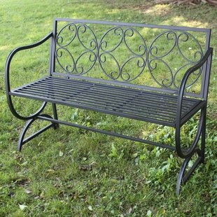 Metal Garden Bench by Hi-Line Gift Ltd.