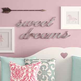 Lovely Sweet Dreams Wall Decor