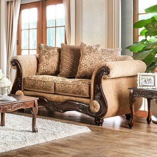 Salinas Loveseat by Fleur De Lis Living Spacial Price