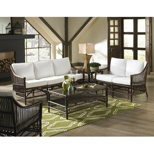 Panama Jack Home Bora Bora 5 Piece Conservatory Living Room Set