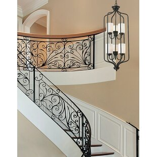 Charlton Home Weatherly 6-Light Shaded Chandelier