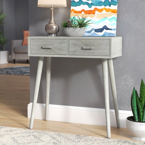 Mercury Row Beem 2 Drawer Console Table & Reviews by Mercury Row
