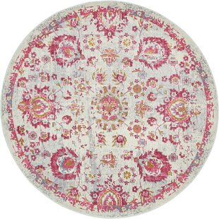 Lonerock Smooth European Pink Area Rug by Bungalow Rose