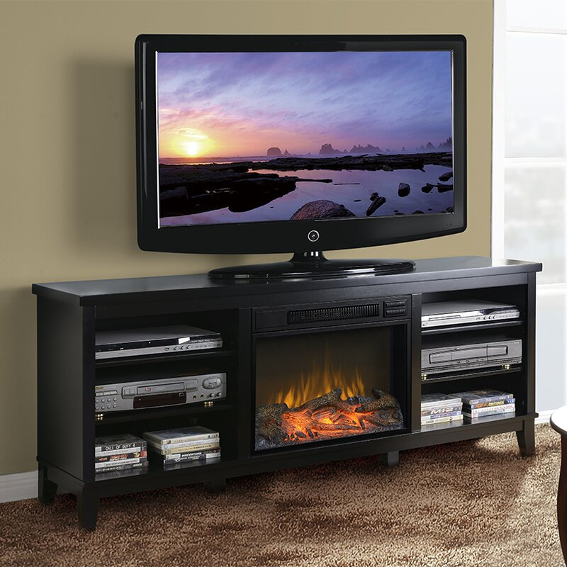 Fireplace Design tv stand with fireplace : American Furniture Classics 66.5