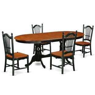 Pilcher 5 Piece Dining Set August Grove