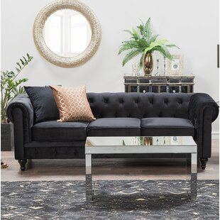 Shop Bosley 3 Seater Chesterfield Sofa by House of Hampton