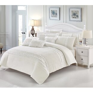 Eileen 100% Pure Cotton 7 Piece Duvet Cover Set by One Allium Way Best Design